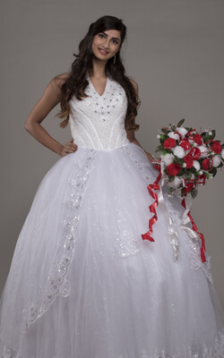 Bridal Dress Goa India